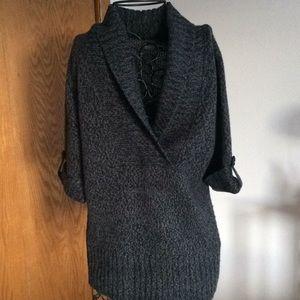 Arizona Jean short sleeve knit sweater top Size XL